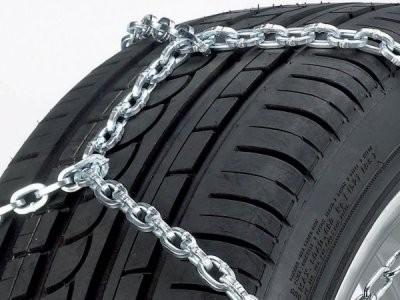 Цепи противоскольжения на шине